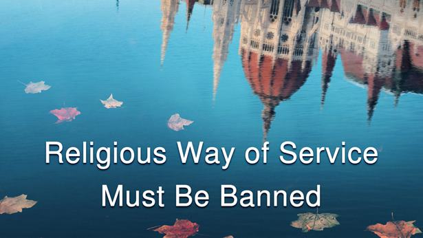 Religious Service Must Be Purged