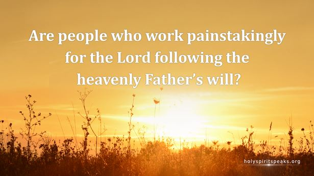 What is following God's will