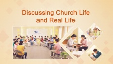 Discussing Church Life and Real Life