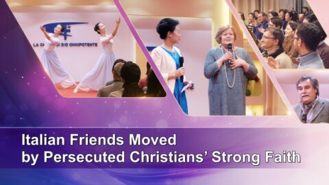 Italian Friends Moved by Persecuted Christians' Strong Faith