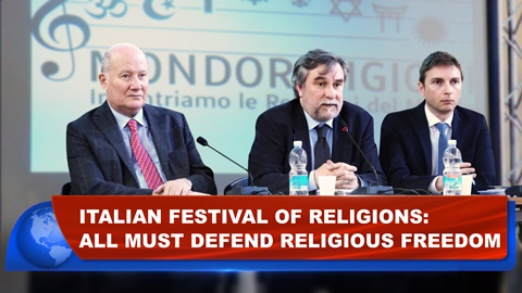 Italian Festival of Religions: All Must Defend Religious Freedom