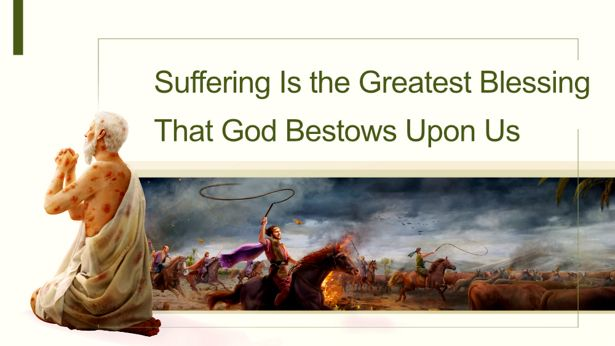 knowing god's will: Why Does God Allow Us to Suffer?