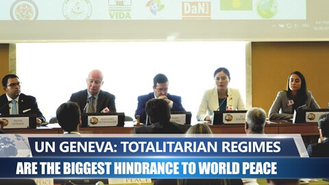 UN Geneva: Totalitarian Regimes Are the Biggest Hindrance to World Peace