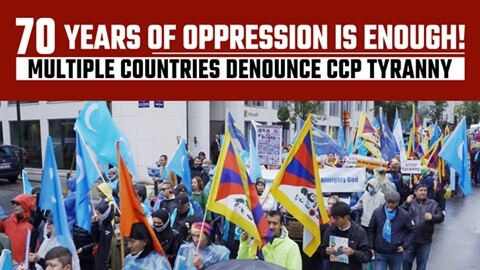 70 Years of Oppression Is Enough! Multiple Countries Denounce CCP Tyranny