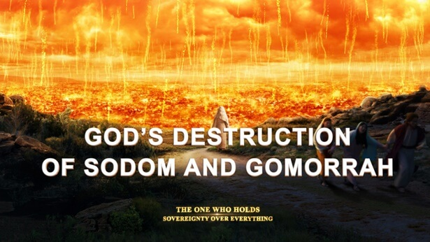 860 The Warning of God's Destruction of Sodom to Mankind