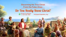 How Can We Discern False Christs and False Prophets and Welcome the Return of the Lord?