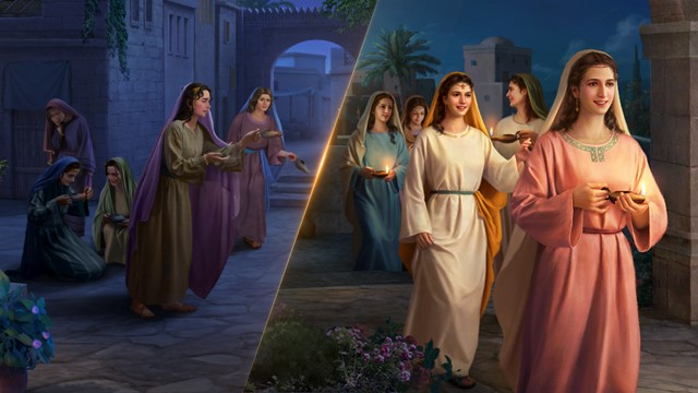 1. What the wise virgins and the foolish virgins are