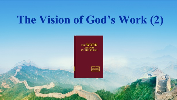 The Vision of God's Work (2)