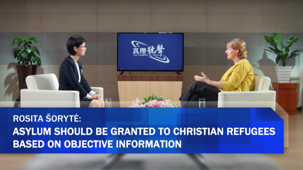 Rosita Šorytė: Asylum Should be Granted to Christian Refugees Based on Objective Information