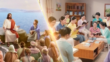 What is the difference between what the Lord entrusted people with in the Age of Grace and what God entrusts people with in the Age of Kingdom?