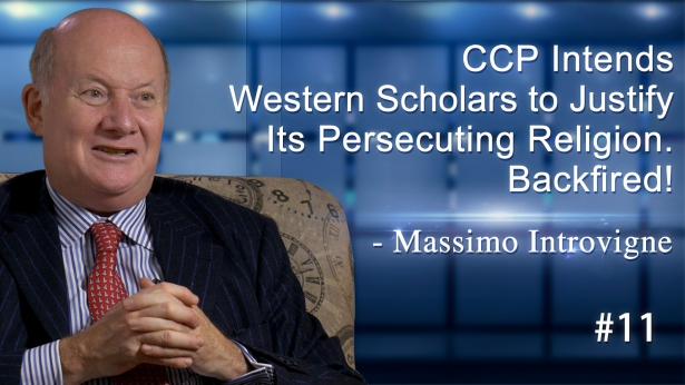 #11CCP Intends Western Scholars to Justify Its Persecuting Religion. Backfired! - Massimo Introvigne