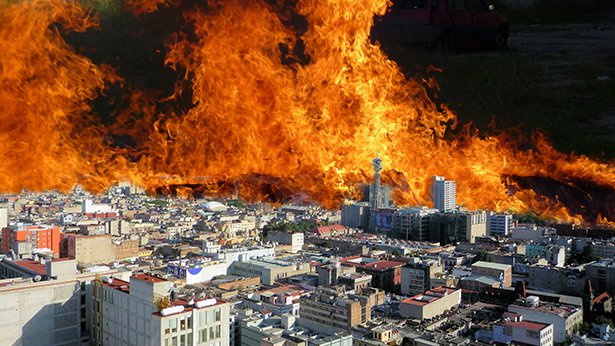6. The Fire That Shocked the Nation in Ji County, Tianjin City
