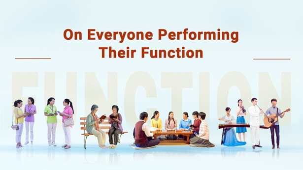 On Everyone Performing Their Function