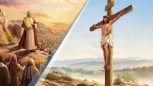 1. What are the essential differences between the work of God and the work of man?